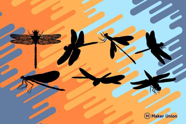 Dragonfly free dxf files preview