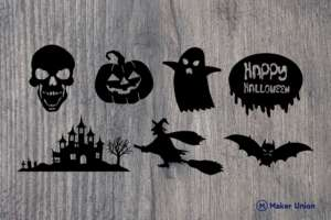 Halloween dxf files preview