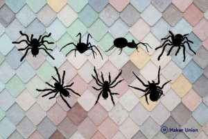 Spiders dxf files preview