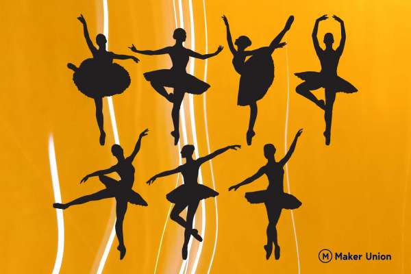 Ballet dxf files preview