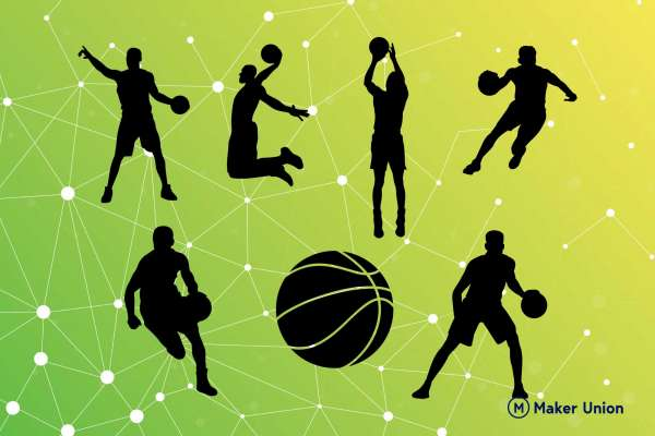 Basketball free DXF files preview