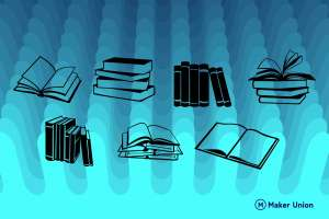 Books and Reading free dxf files preview