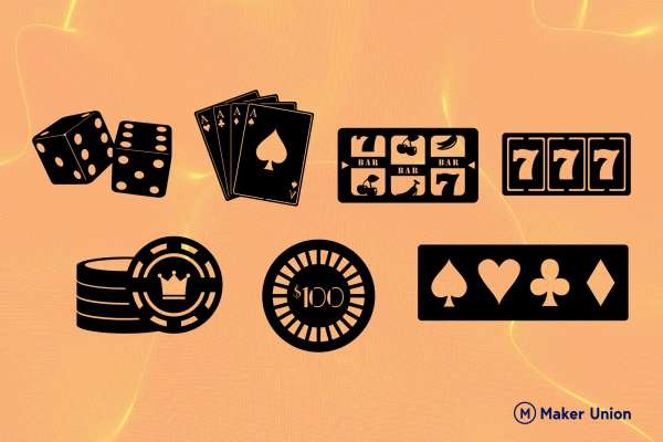 casino free dxf files preview