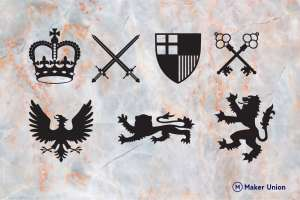 Coat of arms   free dxf files dxf files preview