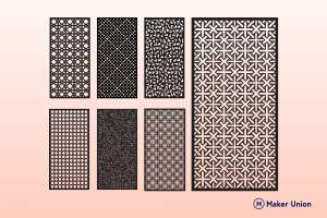 Decorative screens   free dxf files dxf files preview