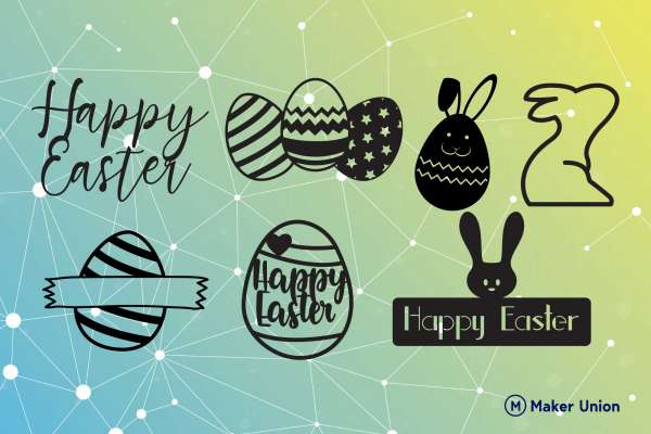 easter celebrations free dxf files preview