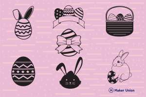 Easter dxf files preview