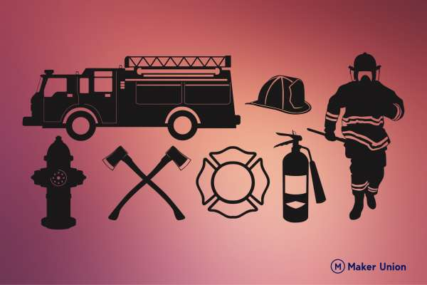 Fire service dxf files preview