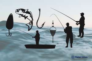 Fishing dxf files preview