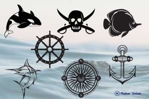 Nautical discovery dxf files preview