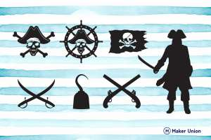 Pirates dxf files preview