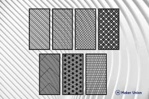 Room dividers dxf files preview