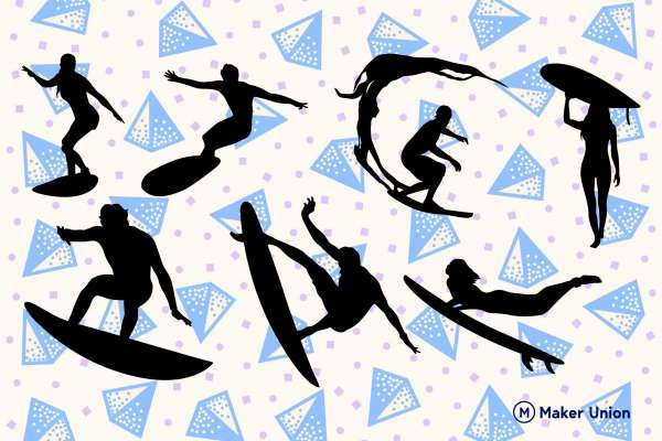 Surfing free dxf files preview