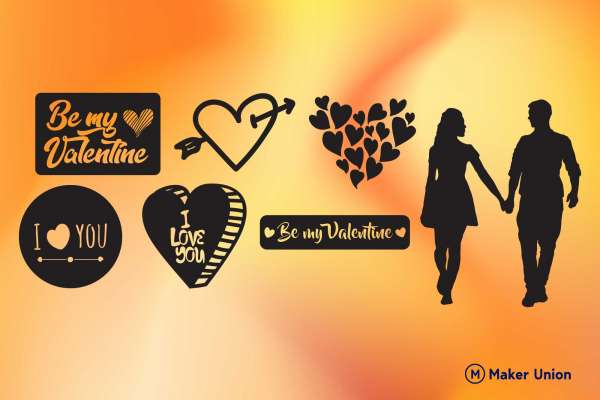 True Love free dxf files preview