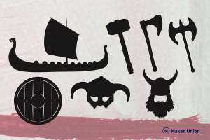 Vikings free dxf files dxf files preview