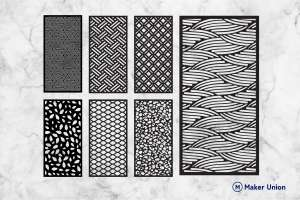 Wall panels free dxf files dxf files preview